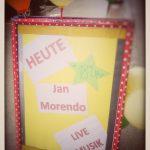 Jan Morendo - Live im Good Things (ab 18 Uhr)!