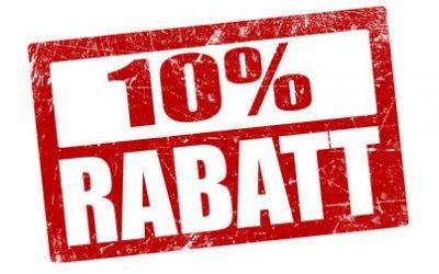 10 % Rabatt-Wochenende im GOOD THINGS
